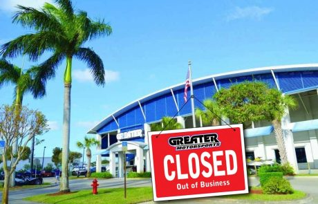 Closed; Greater Motorsports of Palm Beach
