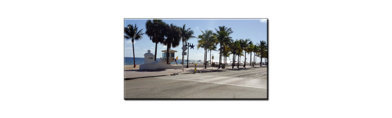 Fort Lauderdale Beach Road
