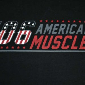 Victory Motorcycle 106 American Muscle Black Men's XL Tee Front Artwork
