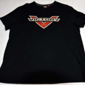 Victory Motorcycles Black Logo Tee Front