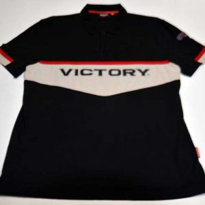 Victory Motorcycles Embroidered Polo Front